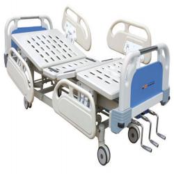 Three Crank Manual Hospital Bed ZMB-A41